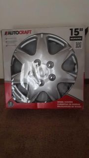 15 inch wheel covers all for $3