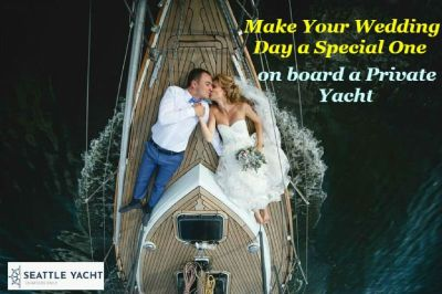 Make Your Wedding Day a Special One on board a Private Yacht