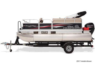 2018 Sun Tracker Bass Buggy 16 DLX Pontoon Boats Boats Gaylord, MI
