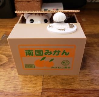 Cat coin activated bank