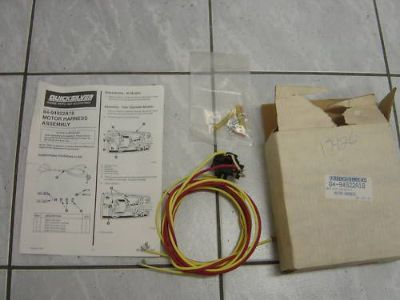Find MERCURY THRUSTER MOTOR HARNESS ASSY 84-94922A18 motorcycle in Saint Charles, Missouri, United States, for US $19.95