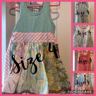 Size 4 Matilda Jane dresses and 1 top