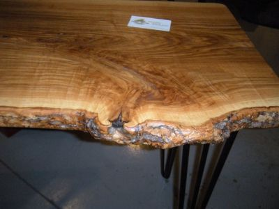 Handcrafted American Hardwood Sofa/Entry Tables