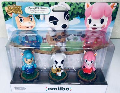 Nintendo Amiibo animal crossing characters (New)