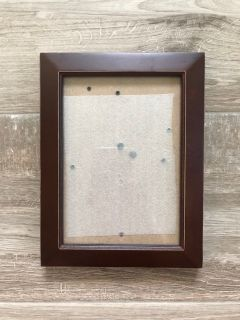 *FREE* Brown picture frame.