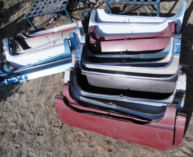 Lot of 18 1950's-1960's Vintage Cadillac Fender Skirts
