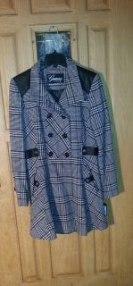 Brand new never worn still has tags size large women's coat more pics in boxes by guess excellent condition retails for 320.00