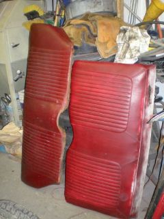Buy 1968 MUSTANG HARDTOP BACK SEAT motorcycle in Baltic, Connecticut, United States, for US $50.00