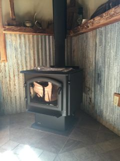 Wood and pellet stove installing