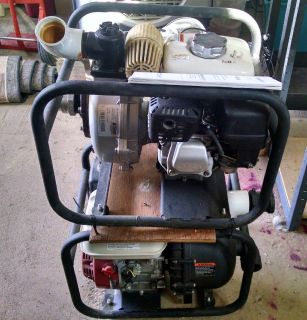 """North Star 2"""" Water Pump + 350' Fire Hose + nozzle + irrigation pump, 2 suction hoses"""