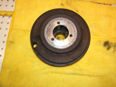 Sell Mercedes W111 220SE 1964 Engine crankshaft DAMPER pulley 1 Assembly,1272000305 motorcycle in Rocklin, California, United States, for US $395.00