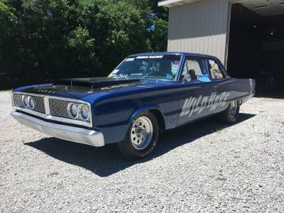 66 Dodge Coronet Post Car