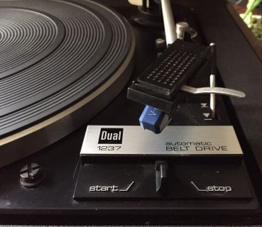Dual 1237 Turntable, works great!