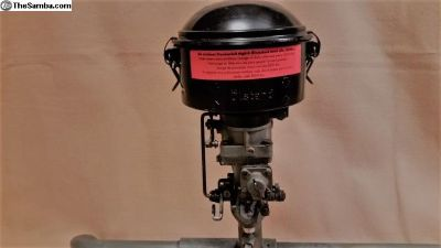 Restored 36 HP Knecht Oil Bath Air Cleaner Oval