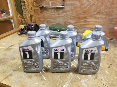 5W20 oil