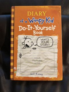 Diary Of A Wimpy Kid. Do it Yourself Book. Very Nice Condition