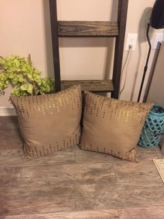 Large Thro by Marlo Lorenz Throw Pillows EEUC, feather filled