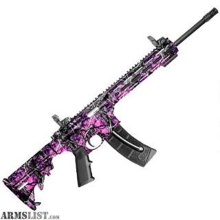 "For Sale: NEW S&W M&P 15-22 Sport AR-15 .22 LR 16.5"" Muddy Girl Camo"