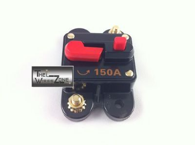 Purchase New Bullz Audio BCB150A 12 Volt 12V 150 Amp Circuit Breaker & Self Test Button motorcycle in Los Angeles, California, United States, for US $12.75