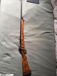 For Sale/Trade: 8mm Rifle for nice .22