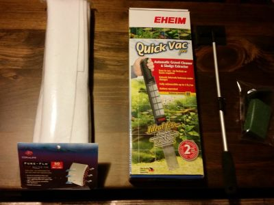Aquarium Cleaning Supplies (lot sale)