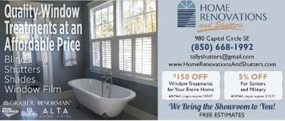 Blinds, Shutters, Shades, Window film