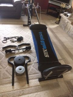 TOTAL GYM XLS COMPLETE SYSTEM