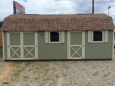 Cook 12x24 Lofted Shed/ Workshop $249/mo - No credit check