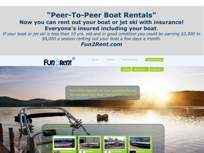 Rent Your Boat or Jet Ski w/Insurnace...Rentals By Owner