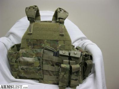 For Sale: Plate carrier rapid deployment Multicam with 4 ballistic plates