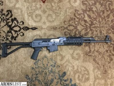For Sale/Trade: M90np AK in 556 using AR mags with upgrades and extras