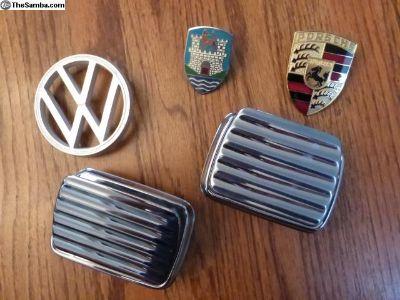 NOS 113 857 405 C & (1)used Bug r/seat ashtray