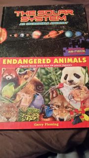 Jigsaw Books Animals & Planets