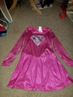 Supergirl pink costume dress small