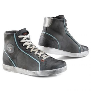 Purchase TCX X-Street Womens Vintage Shoes Gray/Sky Blue motorcycle in Holland, Michigan, United States, for US $149.99