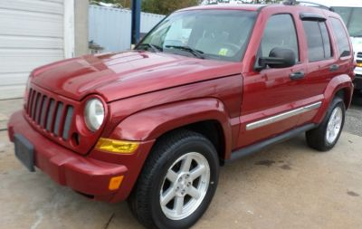 2007 Jeep Liberty Limited (Inferno Red Crystal Pearl)