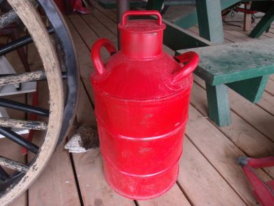 Antique Iron Oil Can