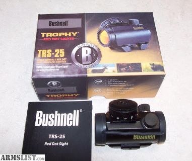 For Sale/Trade: Bushnell TRS-25 Mini red dot