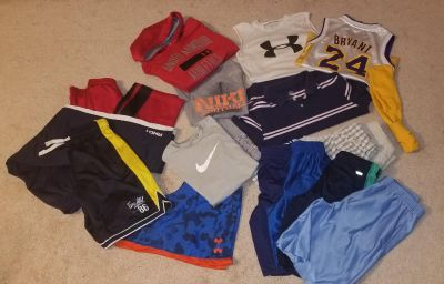 Lot of Boys name brand clothing size Med (8-10)