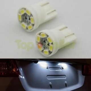 Buy 2 x T10 194 2825 168 HID White 6 1210 SMD LED Bulbs For License Plate Lights motorcycle in Cupertino, CA, US, for US $3.99