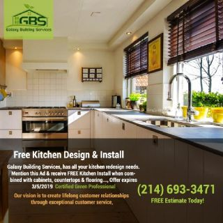 Free Kitchen Design & Install