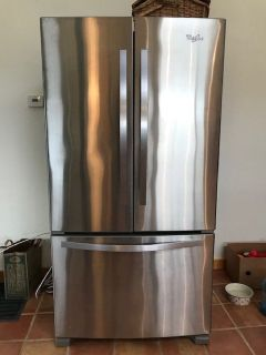 Whirlpool SS French Door Refrigeratior