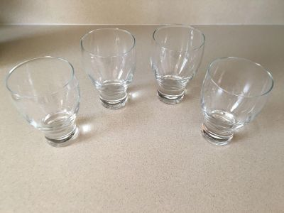 Crate snd Barrel drinking glasses new