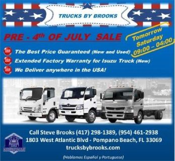 PRE - 4th OF JULY - TRUCKS SALE.