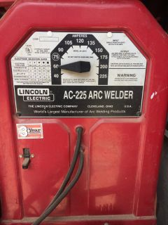 Lincoln 225 Stick Welder