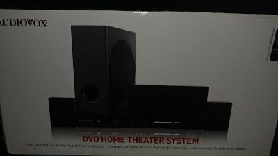 Audiovox DV1201 5.1 Channel Home Theater System