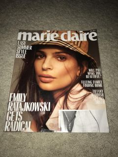 JUNE 2018 COPY OF MARIE CLAIRE MAGAZINE