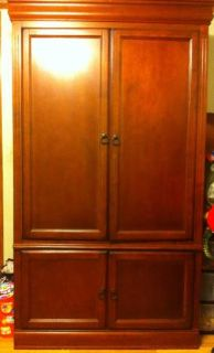 Price reduced Real wood armoire