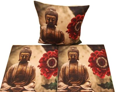 Set of 3 Throw Pillow Cases Cushion Covers
