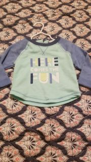 Pullover size 12 months Cat and Jack brand